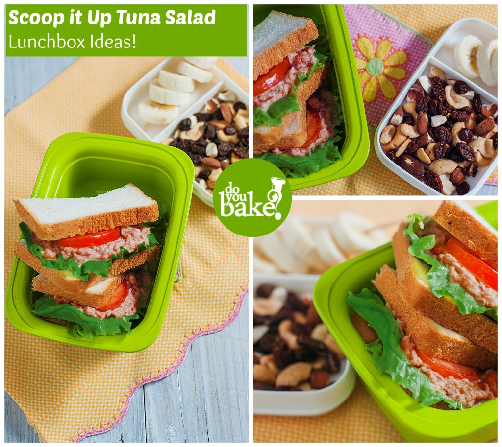 Scoop it Up Tuna salad lunchbox