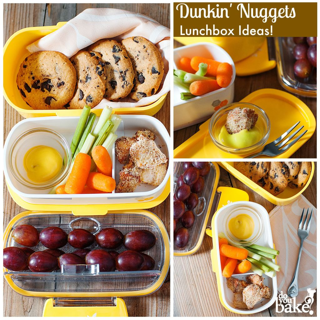 Fun Chicken Nuggets & Dunkin' Cookies Lunch Box