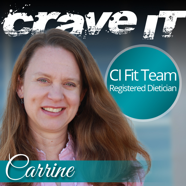 Carrine - CRAVE IT Dietician