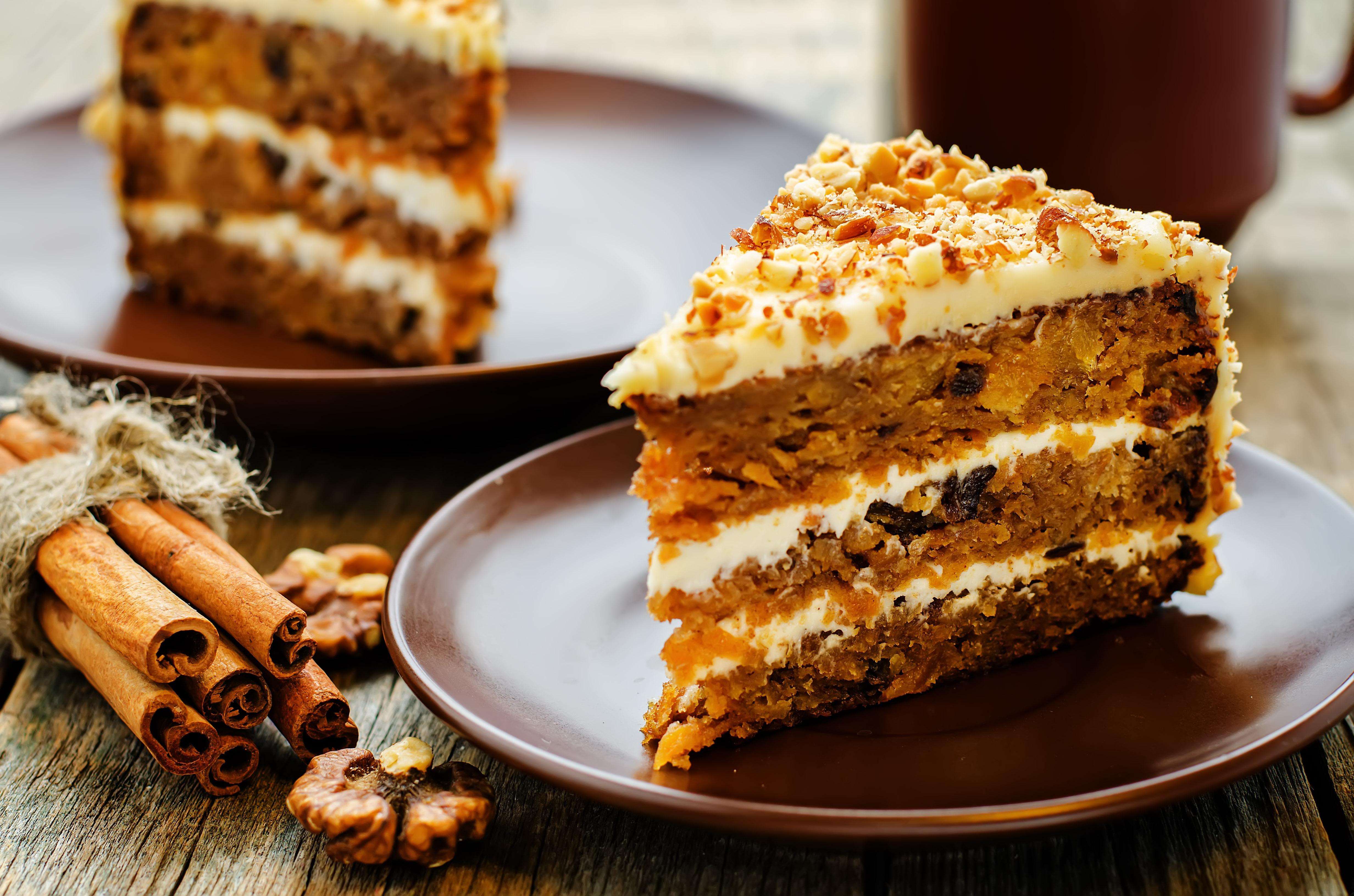 Пирог морковный с маком рецепт
